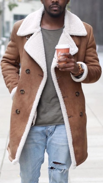 coat brown fur