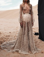 dress,sparkle,maxi dress,gold,see through dress,prom dress,gown,nude dress,wedding dress,boho chic,belted dress,transparent,embellished dress,princess dress