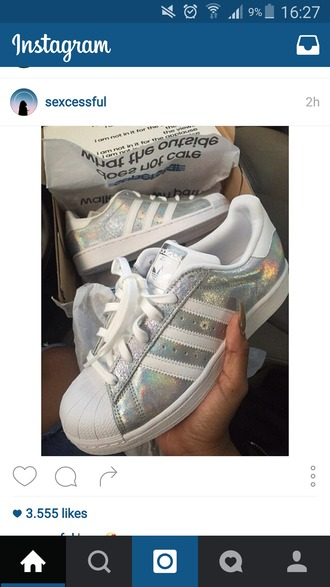 shoes adidas sneakers beautiful love dream white diamonds cute fashion style