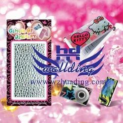 Bling kristal mobiele telefoon sticker, freeshipping   mix ontwerpen om te bestellen!!