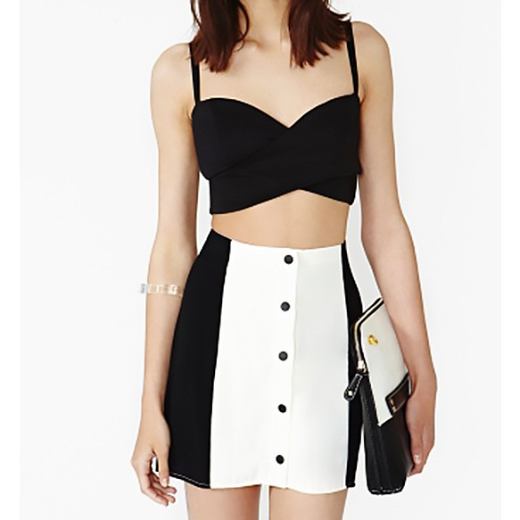 Bandeau Top With Twisted Front