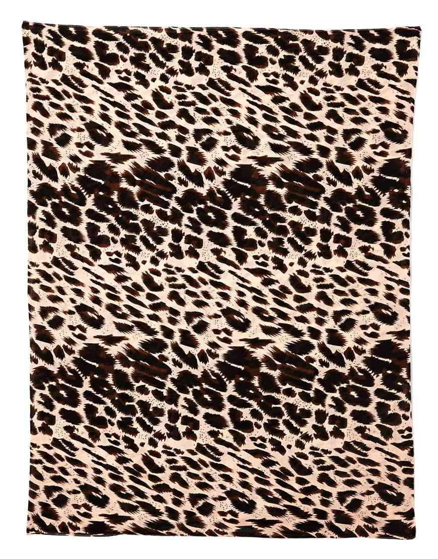 Pieces lavaldo leopard snood at asos.com