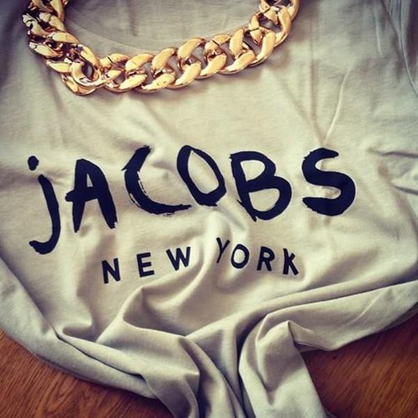 t-shirt top necklace jewels shirt sweater