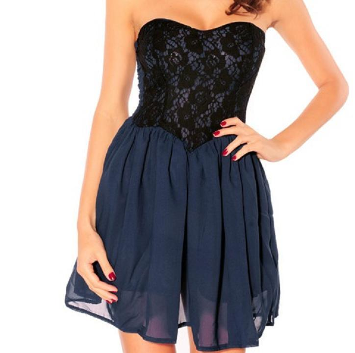 one-piece dress-b44 / melodyclothing