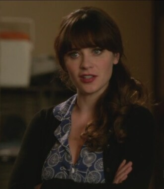 dress new girl jess day zooey deschanel cardigan