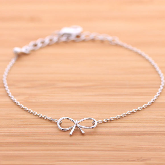 gift jewels jewelry bracelet ribbon ribbon bracelet simple charm bow simple bracelet birthday gift cute