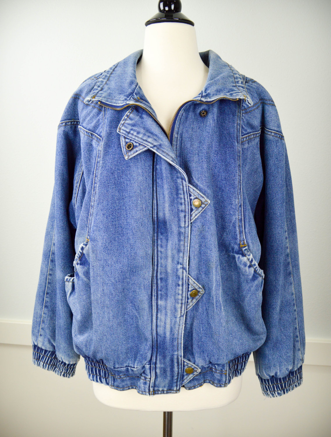 80s Fashion: How to Wear Jean Jackets Now Like Totally 80s