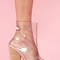 Clear platform boot in  collections july lookbook at nasty gal