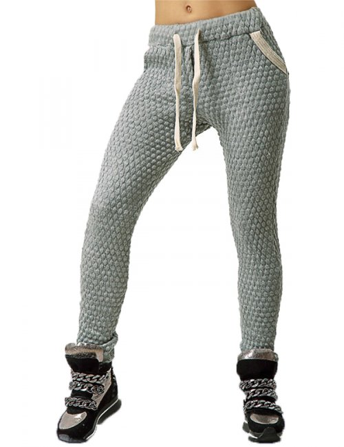 Women's Fashionable Tricot Warm Skinny Sweatpants