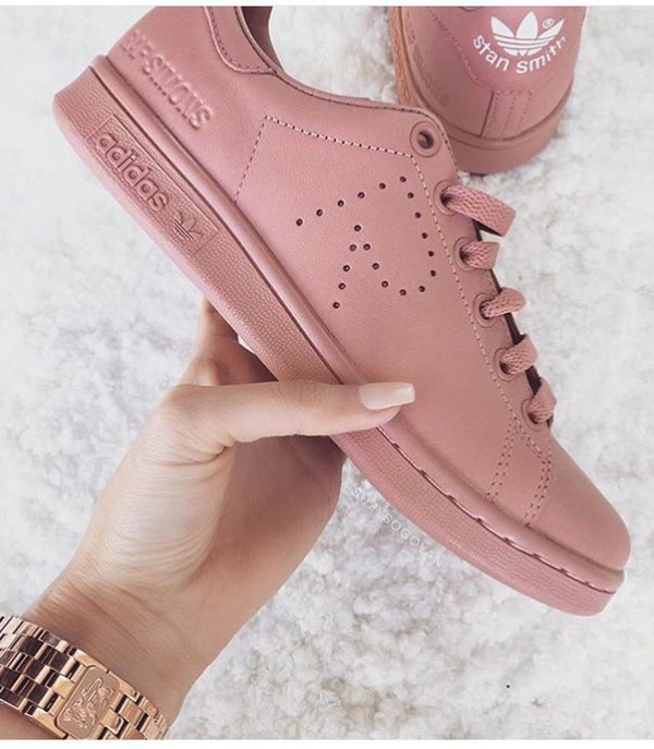 Adidas Stan Smith Raf Simons Rosa