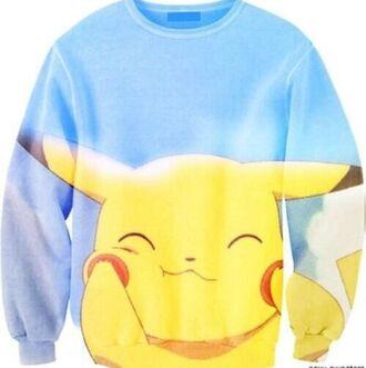 sweater pikachu pok?mon