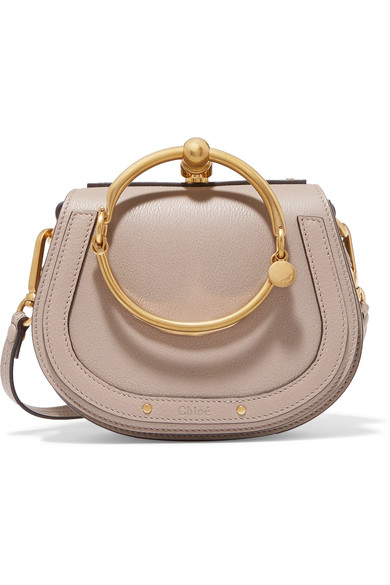 Chloé - Nile small textured-leather shoulder bag
