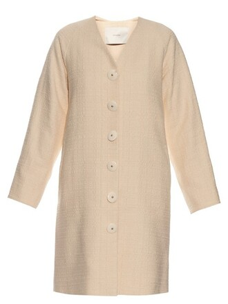 coat cotton beige