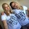 Fashion best friend blondy brunette tees, t-shirts