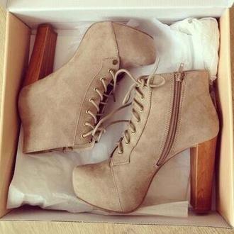 shoes beige high heels fancy heels