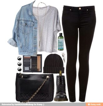 t-shirt punk boots bag jacket jeans blue jacket jewels necklace jewelry pants all items coat shirt grunge grunge t-shirt jean jackets blue jeans cut off shorts cute cute outfits top gloves shorts blouse black shoes