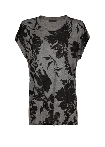 premium - floral t-shirt