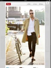 spring,beige,mens coat,coat