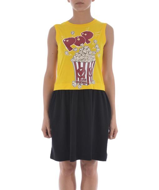 LOVE MOSCHINO dress pop corn