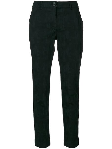 Vivienne Westwood Anglomania women spandex cotton black pants