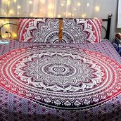 home accessory,bedding,multimatecollection,indian tapestry,floral tapestry,floral duvet,ombre tapestry