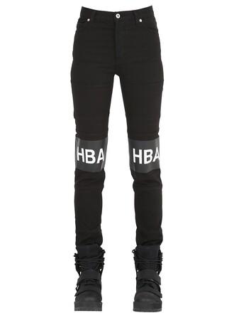 jeans cotton black