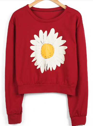Sexy Single Daisy Sweater from redroses on Storenvy