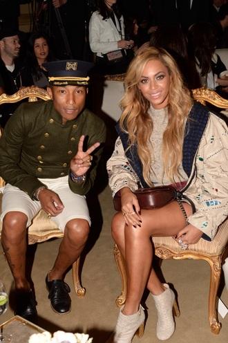 hat pharrell williams military style