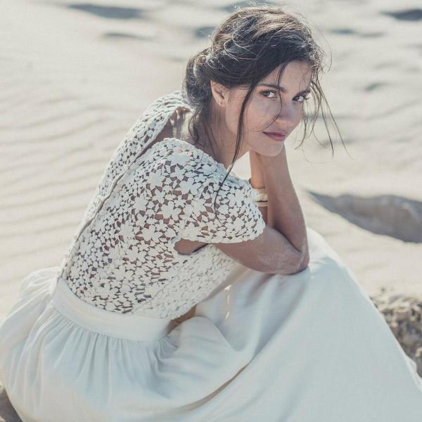 dress beach wedding beach wedding dress wedding dress short wedding dress bridal gown boho wedding dress