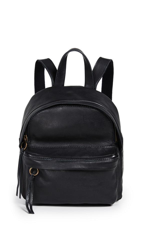 Madewell Mini Lorimer Backpack in black
