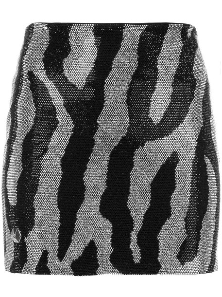 PHILIPP PLEIN skirt mini skirt mini women spandex black