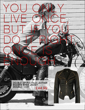 jacket biker jacket biker coat bomber jacket zip double zip pvc faux leather sexy golden yolo you only live once do it right cool badass vintage retro pin up hipster motorbike harley davidson summer outfits streetwear coachella