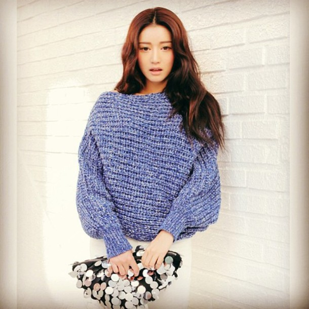 sweater stylenanda bag