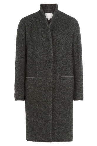 coat wool grey
