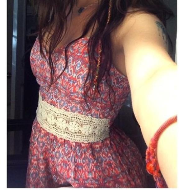 dress pink dress summer dress patterned dress dress lace dress