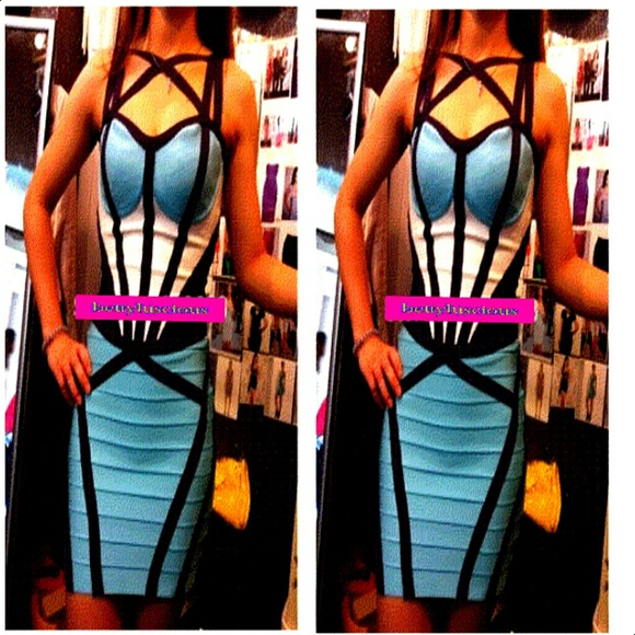 Herve leger inspired high quality bandage dress from betty's closet on poshmark