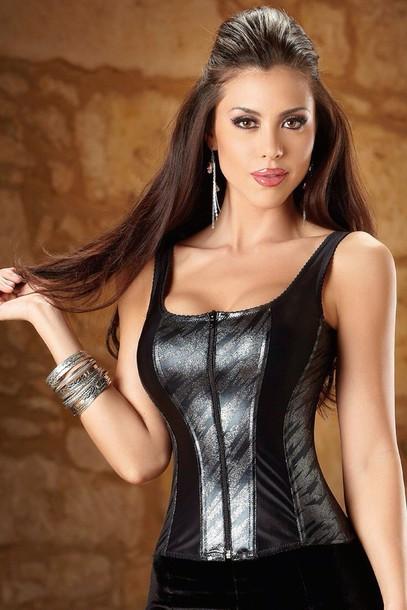 blouse corset top tank top sexy sexy top shirt women lingerie lingerie lingerie top
