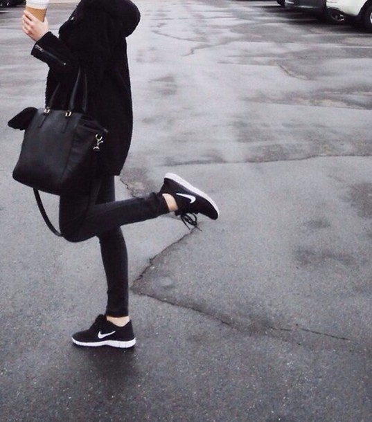 Image is loading Womens-Black-White-Platform-Canvas-Low-Top-Trainers