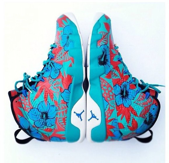 shoes teal blue custom shoes red jordan shoes white