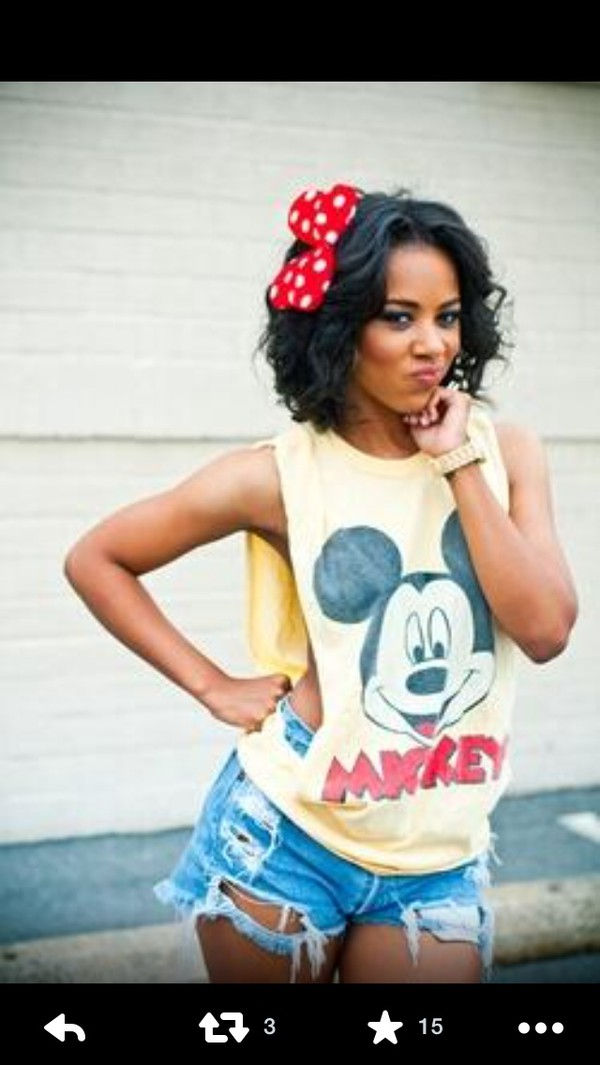 muscle tee mickey mouse shirt