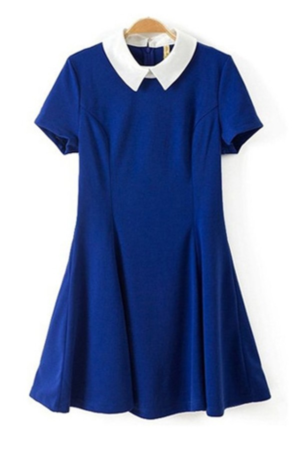 dress persunmall blue dress persunmall dress clothes short dress blue