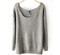 Sparkle grey knit sweater · love, fashion struck ·