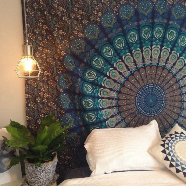 Cool Christmas Wall Decor : Home accessory bedding queen blanket hippie throw