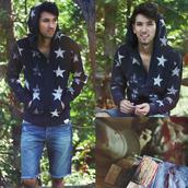 bobby raffin,menswear,mens sweater,stars