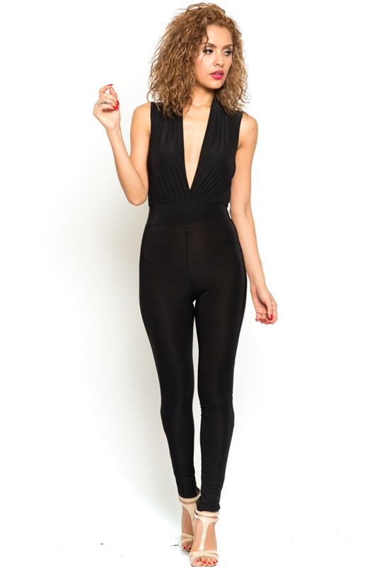 Take a dip black jumpsuit · trendyish · online store powered by storenvy
