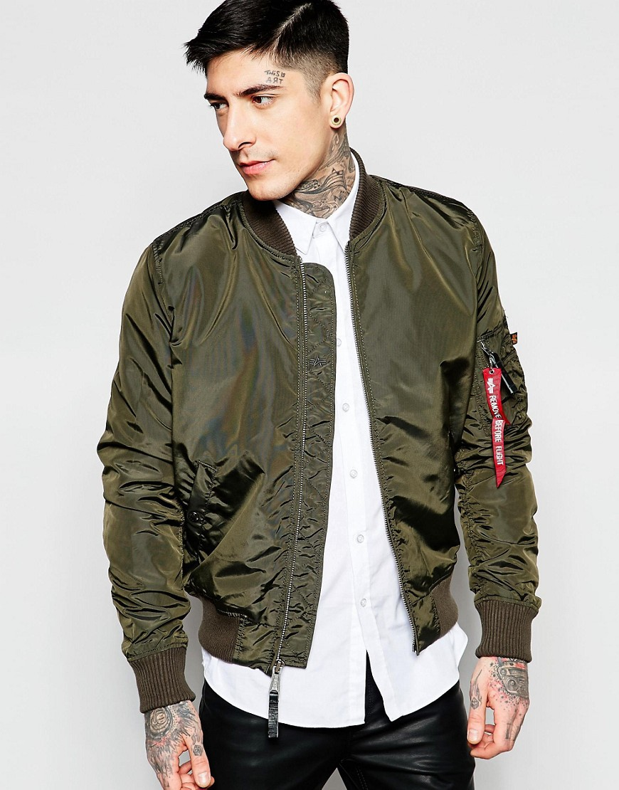 alpha industries slim fit