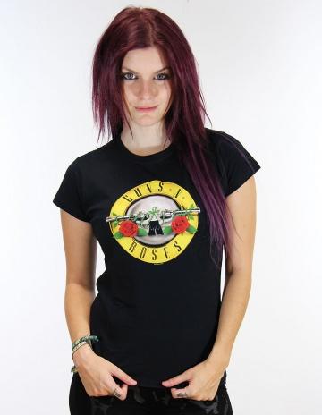 T-shirt Femme GUNS N'ROSES /  Classic logo | 22 € sur Goeland.fr