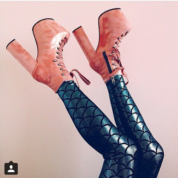 shoes platform shoes style