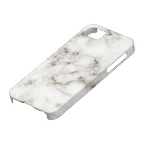 Ebony Ivory marble iPhone 5 Cover from Zazzle.com