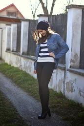perla oreneta,sweater,shirt,pants,shoes,hat